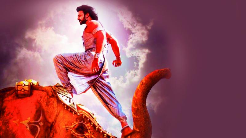 A still from the film Baahubali 2