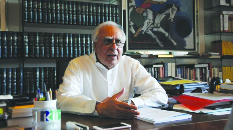 Kapil Sibal (Photo: G.N. Jha)
