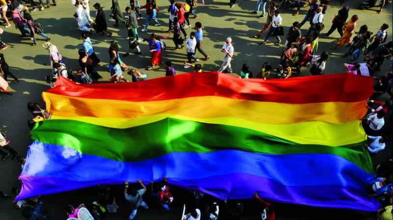Four hundred thousand people turned out on the streets of Madrid Saturday for a Gay Pride parade dedicated this year to pioneers of the LGBT+ cause, amid growing fears of fresh repression with the rise of the far-right in Europe. (Representational Image)