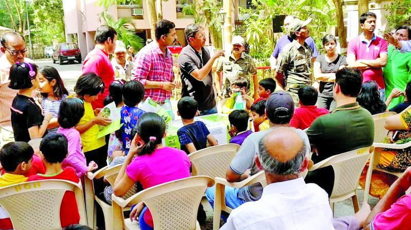 Forest officials addressed residents' concerns.
