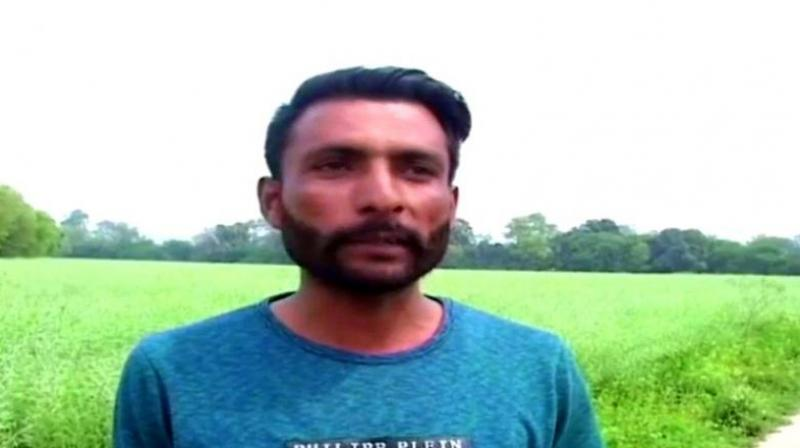 'I told the truth that 39 Indians were killed. The government has misled the 39 families who lost their relatives,' said Harjit Masih. (Photo: Twitter | ANI)