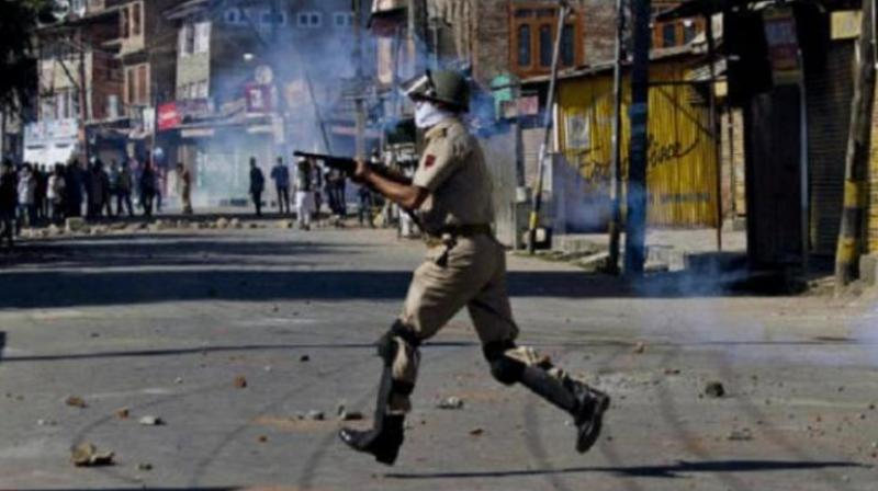 The party also asked for complete ban on the use of pellet shotguns by security forces during containing protests in the State. (Photo: Representational Image/PTI)