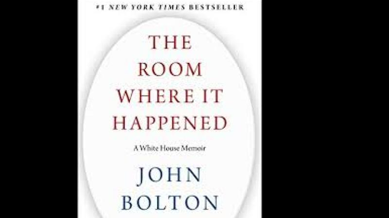 The room where it hapened by John Bolton
