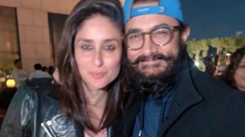 Kareena Kapoor and Aamir Khan. (Image Courtesy: Instagram/ therealkareenakapoor)