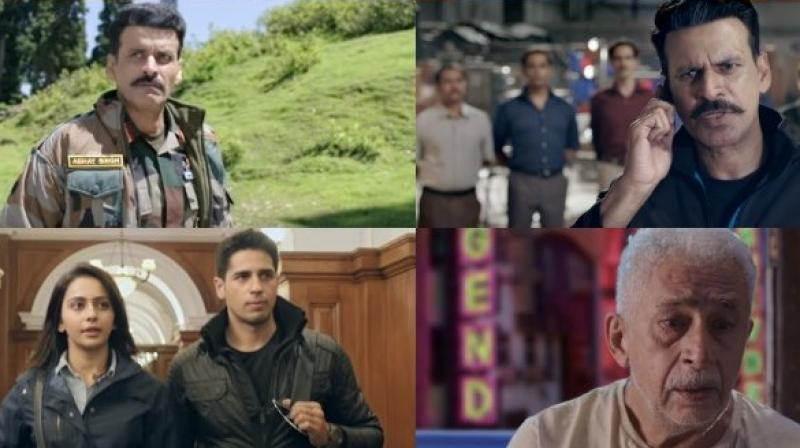 Some stills from 'Aiyaary'.