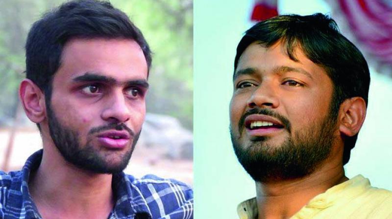 JNU upholds punishment for Umar Khalid, Kanhaiya Kumar