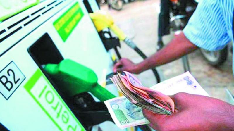 In Delhi a litre of petrol costs Rs 83.49, while the fuel was purchased at Rs 86.80 per litre in Chennai. In Kolkata, the fuel was sold at Rs 85.30 per litre.