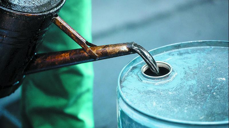 """Oil bears are taking their turn in the driving seat,"" said Stephen Brennock, analyst at London broker PVM Oil Associates."