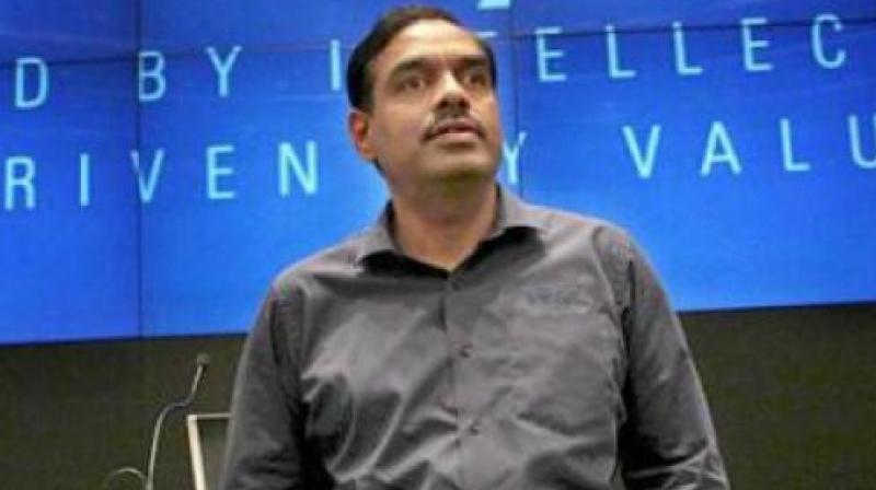 Former Infosys Chief Financial Officer V Balakrishnan.