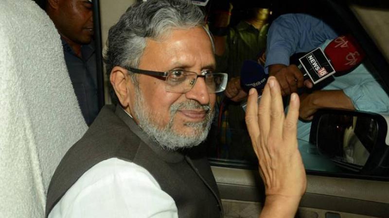 Bihar Finance Minister Sushil Modi. (Photo: PTI)