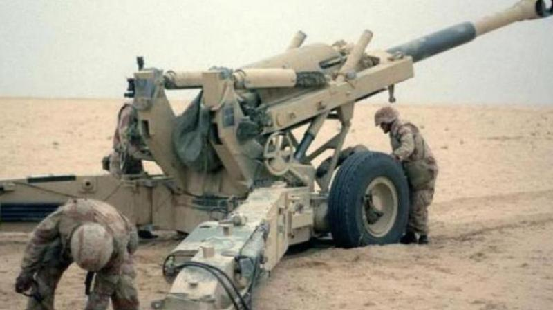 The quid pro quo for facilitating Rajiv Gandhi's easy entry to the global high table was the purchase of the Bofors FH45 howitzer. (Photo: File/Representational)