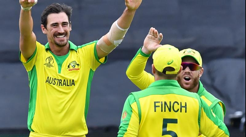 Captain Aaron Finch and David Warner have combined for 447 runs in six innings, building on Australia's average of 53.81 for the first wicket in one-dayers since 2015, the highest in the world. (Photo:AFP)