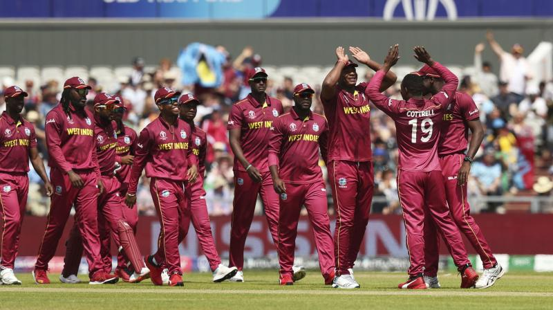 The West Indies had a blistering start, but suffered a top-order collapse and only a rearguard maiden century from all-rounder Carlos Braithwaite meant they got close to New Zealand's 291 for eight. (Photo:AP)
