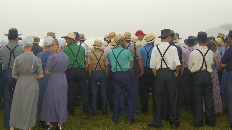 Amish people. (Photo: Pixabay)