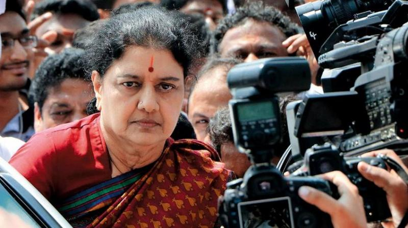Sasikala had been staying in Chennai's T Nagar area after returning to the city in February. (Photo: File/PTI)