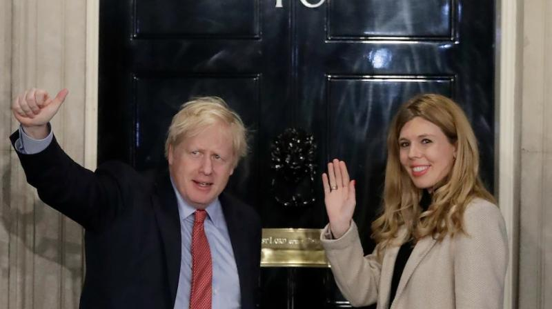 Johnson, 56, and 33-year-old Symonds, an environmental advocate, announced their engagement in February 2020. (Photo: File/AP)