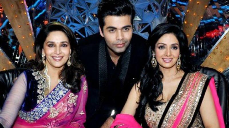 Madhuri Dixit will be play late actress Sridevi role in Karan Johar's 'Shiddat'.