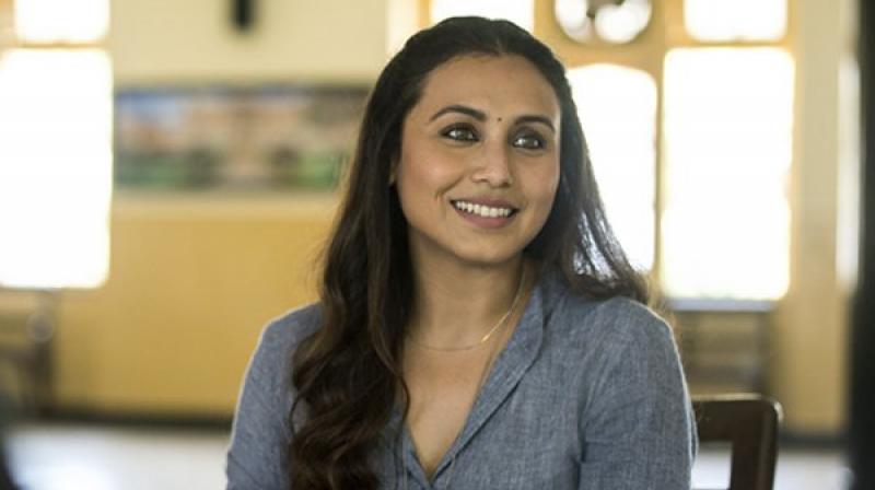 Rani Mukerji in a still from 'Hichki.'