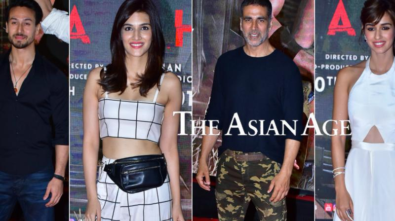 Akshay Kumar, Kriti Sanon, Suniel Shetty, Vivek Oberoi and other B-town celebs attend special screening of Tiger Shroff, Disha Patani starrer 'Baaghi 2'. See all exclusive pictures here. (Photos: Viral Bhayani)