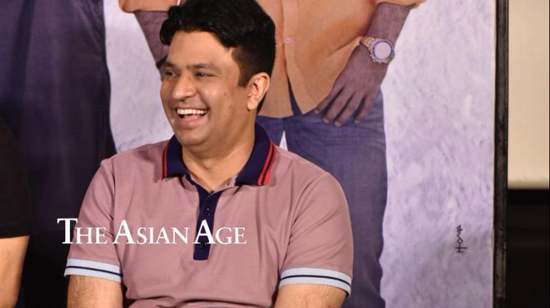Bhushan Kumar at 'Sanju' teaser launch.