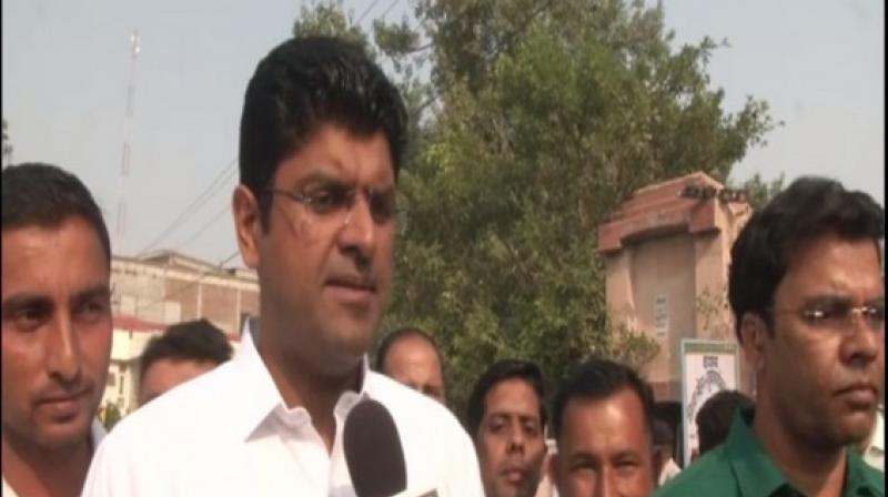 'Haryana is moving towards the path of development. (BJP's) 75-plus target has failed,' Chautala said. (Photo: ANI)