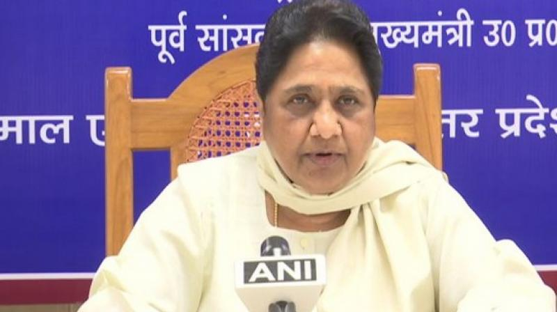 Bahujan Samaj Party chief Mayawati has dissolved the party's executive in Rajasthan, days after its all six legislators joined the Congress and the brawl among activists at its office. (Photo: File)
