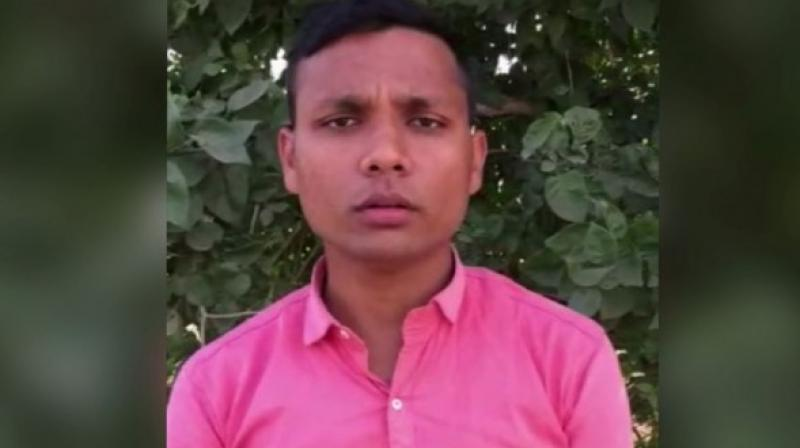 Yogesh says in the video that in the alleged cow slaughter in Bulandshahr, which led to the violence, the police are