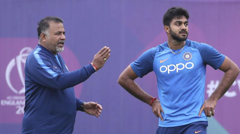 Shankar is one of the designated No four batsmen in this Indian line-up although he is being used as a floater. (Photo: AP)