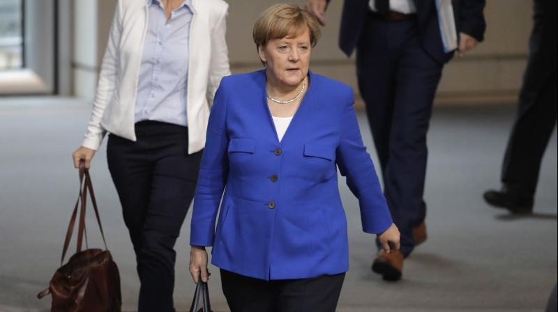 Germany's economy contracted on weaker exports in the second quarter, and leading economists say it is facing a recession, as German firms have been caught in the crossfire of a US-China trade war. (Photo: AP)