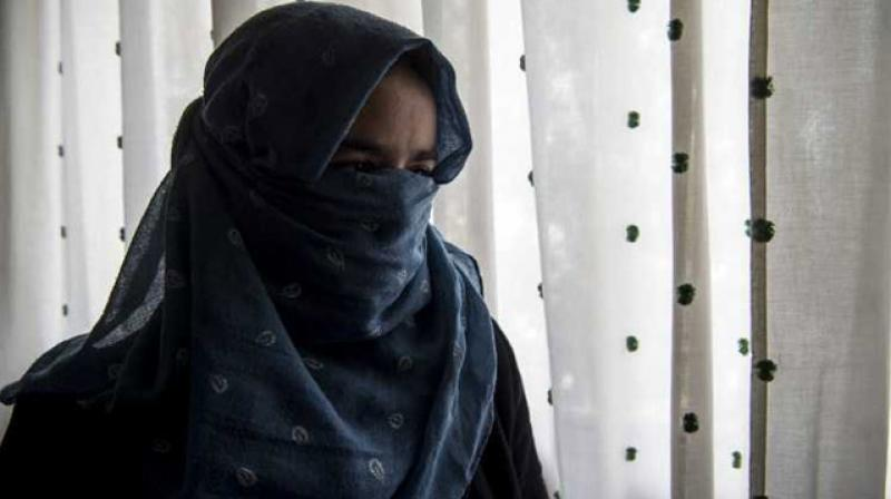 'Even a pet animal is better treated,' sobs 17-year-old Fatima, one of thousands of young girls exploited and too often abused while working as housemaids for unscrupulous employers in Morocco. (Photo: AFP | Fadel Senna)