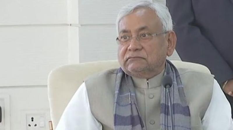 Bihar Cabinet-led by Chief Minister Nitish Kumar has approved a proposal to punish sons and daughters who abandon their elderly parents with a jail term. (Photo: ANI)