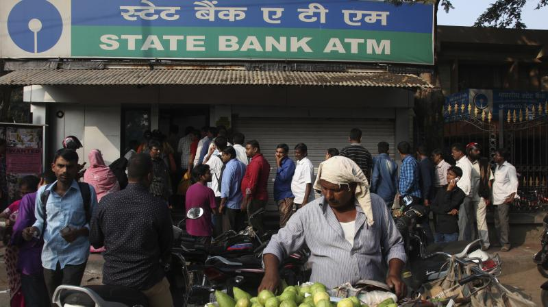 State Bank of India ATM.