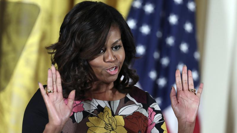 US First lady Michelle Obama (Photo: AP)