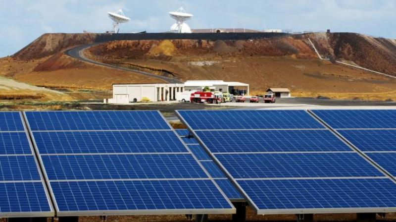 India unveiled its national solar programme in 2011, seeking to ease chronic energy shortages in Asia's third-largest economy without creating pollution. (Photo: File/Representational)