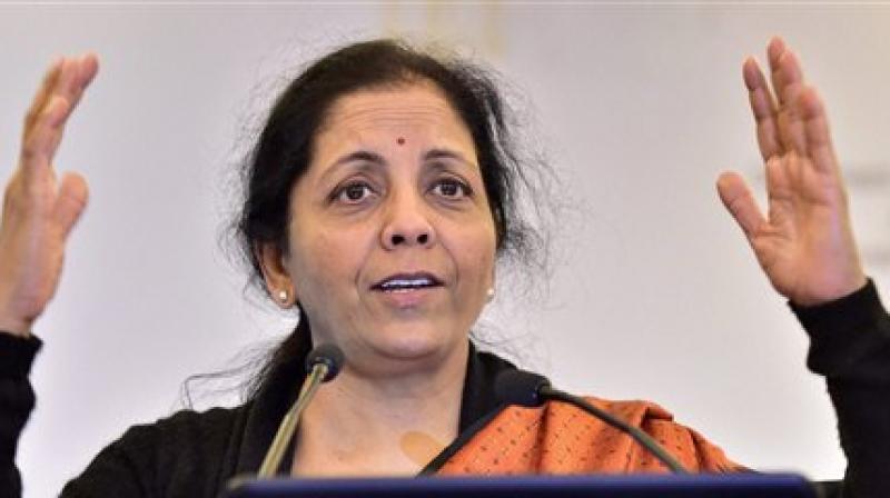 Commerce Minister Nirmala Sitharaman