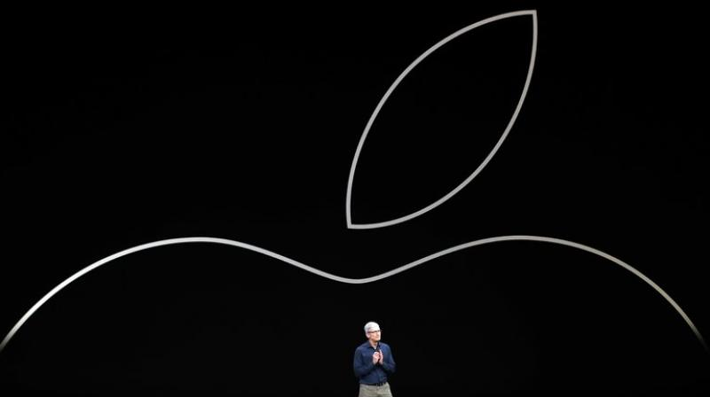 Apple said at the start of the year it would invest USD 30 billion in the United States.