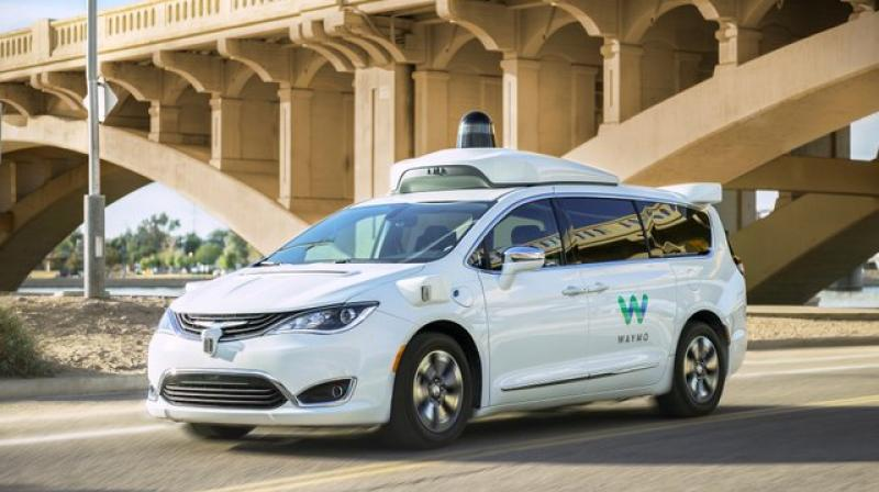 The service, dubbed Waymo One, at first will only be available to a couple hundred riders.