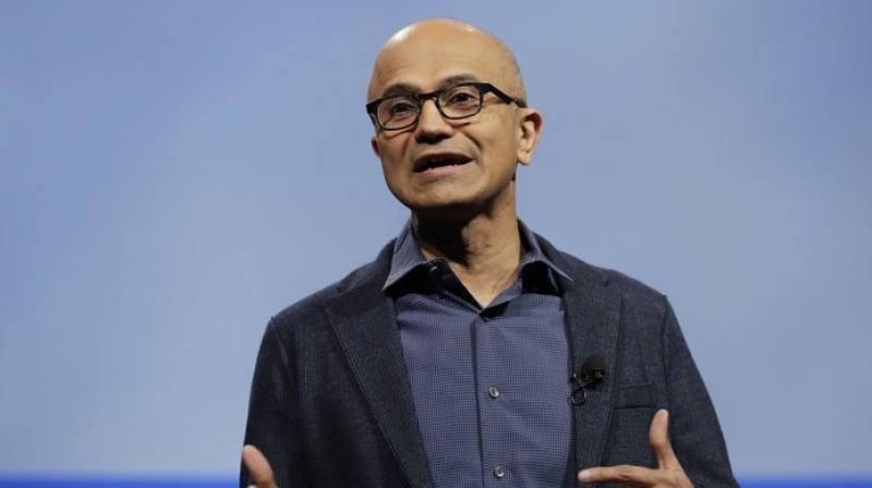 Attendees included Google CEO Sundar Pichai, Microsoft CEO Satya Nadella, IBM CEO Ginni Rometty, Oracle co-CEO Safra Catz and Qualcomm CEO Steven Mollenkopf.