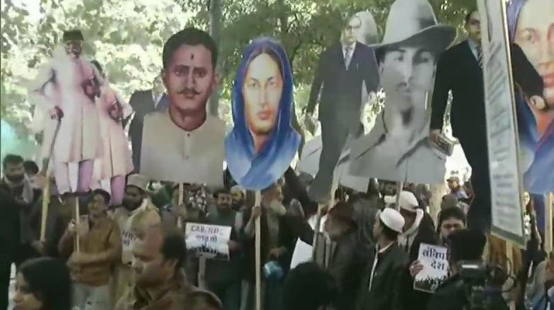 Last week, students across the world expressed concern over the use of police force during these protests. (Photo: ANI)