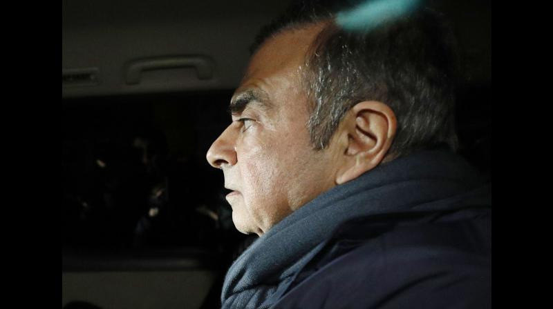 Authorities are looking into new allegations that Ghosn transferred some USD 15 million in Nissan funds. (Photo:AP)