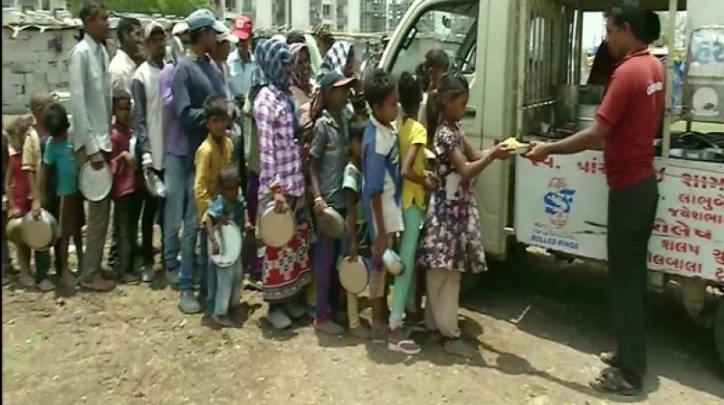 The initiative, called 'Roti Bank', has grown within a few months of its inception. (Photo: ANI)