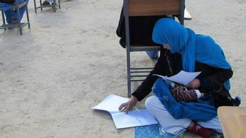 Afghanistan's general literacy rate is one of the lowest in the world - just 36 per cent, according to official figures. (Photo: AFP)