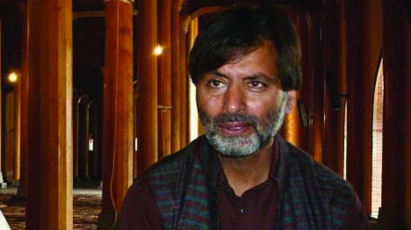 Kashmiri separatist leader Muhammad Yasin Malik