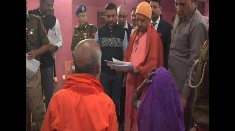 The Chief Minister has assured justice to people with grievances. (Photo: ANI)