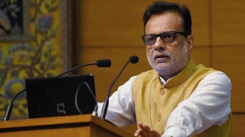 Revenue Secretary Hasmukh Adhia (Photo: PTI)