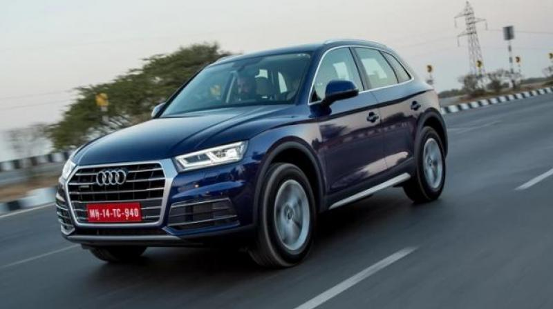 German luxury car maker Audi on Thursday launched petrol variant of its popular SUV, Q5 with price starting at Rs 55.27 lakh (ex-showroom).