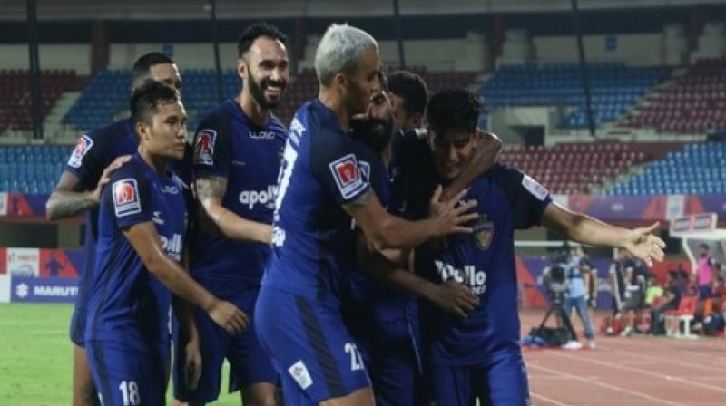 ChennayinFC will now face FC Goa for the Super Cup 2019 title at the same venue on April 13. (Photo: AIFF)