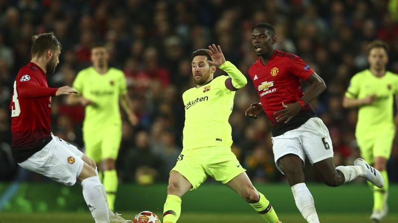 One glimmer of hope for United is that a much-changed Barcelona were held by La Liga bottom side Huesca on Saturday. (Photo: AP)