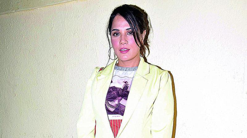 Actress Richa Chaddha