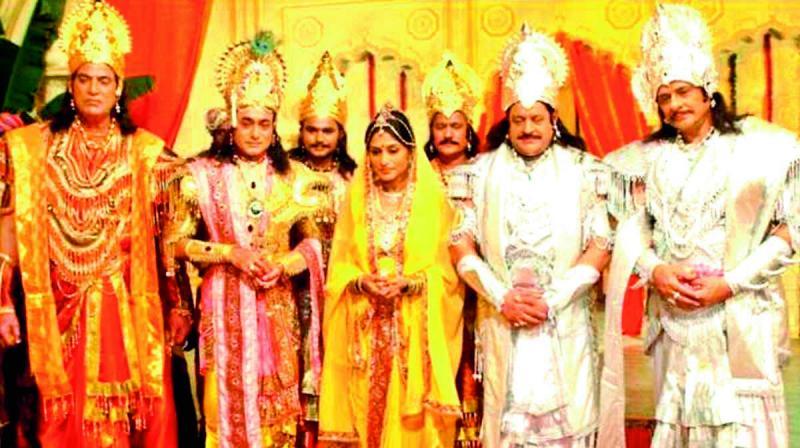 Mahabharat: The epic series of BR Chopra on DD. (DC Photo)